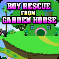 Boy Rescue From Garden House Escape game