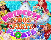 Princess Pool Party Floats game