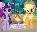 My Little Pony Camp Fun game