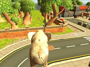 Wild Animal Zoo City Simulator game