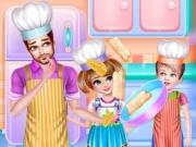 play Daddy Cooking Time