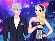 play Disney Couple: Ice Princess Magic Date
