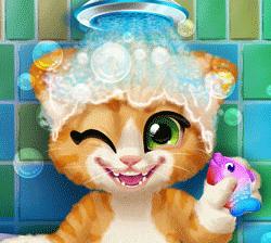 play Rusty Kitten Bath
