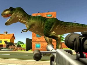 Dinosaur Hunter Dino City game