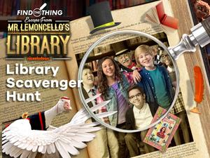 Escape From Mr. Lemoncello'S Library: Library Scavenger Hunt Puzzle game
