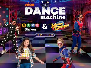 Nickelodeon Dance Machine: Game Shakers & Henry Danger Edition Funny game