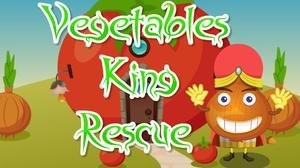 play Vegetables King Rescue Escape
