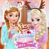 play Frozen Sisters Cozy Time