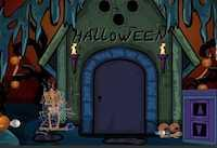 play Nsr Halloween Party Escape 2