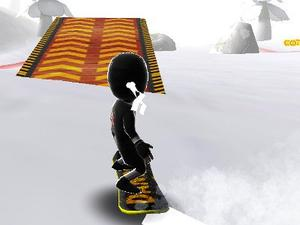 Real Snowboard Endless Runner game