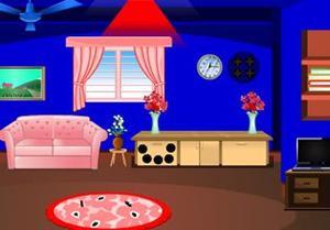 play Little Blue House Escape