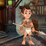 play Cute Tribe Boy Rescue