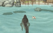 play Crocodile Simulator Beach Hunt