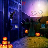 play Top10Newgames Halloween Scary Place Escape