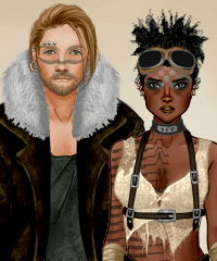 Post Apocalyptic Duo Dollmaker Game game