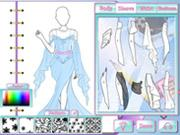 play Fashion Studio - Ice Queen Outfit