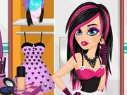 Stylish Emo Makeover game