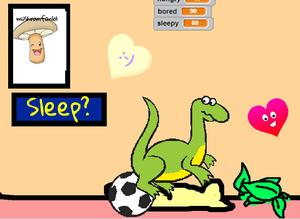 My Pet Dinosaur game