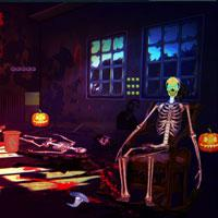 Halloween Zombie House Escape Top10Newgames game