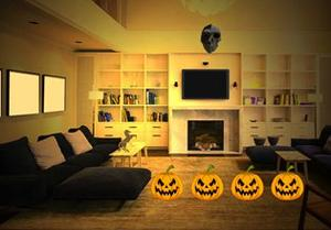 play Halloween Provoking House Escape