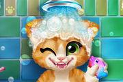 Rusty Kitten Bath Girl game