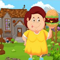 play Games4King Fat Girl Rescue