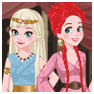 The Disney Princesses Try The Fashions Of Westeros! game
