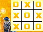 Lego Nexo Knights Tic Tac Toe game