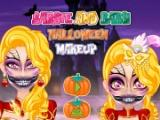 Barbie And Baby Halloween Makeup game