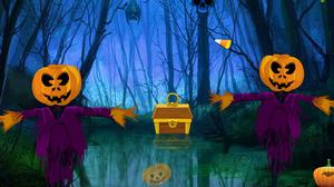 Halloween Quest Forest Escape game