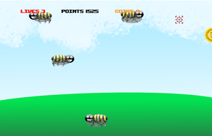 Bee-Shooter game