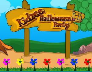 Kidzee Halloween Party game