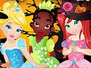Princesses Halloween Party game