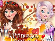 Princesses Bffs Fall Party game