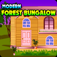 play Modern Forest Bungalow Escape