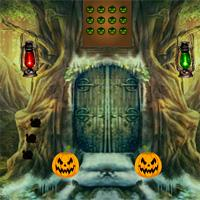 play 8Bgames Halloween Scared Cat Escape