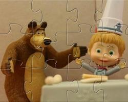 Masha And The Bear Cooking Time game