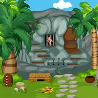 Games4King Cavemen Rescue game