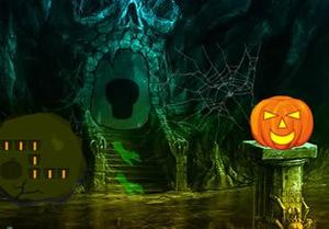 play Halloween Fantasy Forest Escape