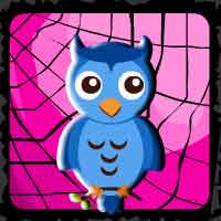 play Halloween Owl Forest Escape