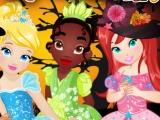 Disney Princess Halloween game