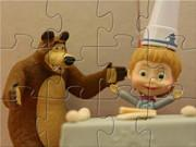 play Masha And The Bear Cooking Time