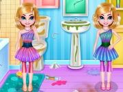 play Twin Girls Room Cleaning