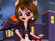 Halloween Wolf Day In Hair Saloon Dressup