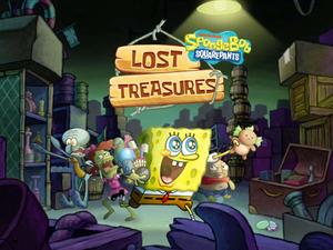 play Spongebob Squarepants: Lost Treasures Puzzle