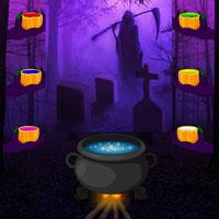 play Wowescape Halloween Gothic Forest Escape
