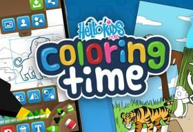 Hellokids Coloring Time - Free Game At Playpink.Com game