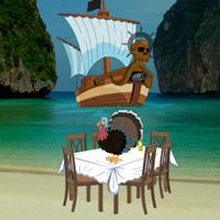 Pirates Island Thanksgiving Escape game
