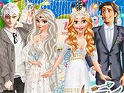play Princess Boho Wedding Rivals
