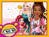 Princesses Fashion And Dare Challenge game